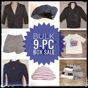 Other - LOT 9-pc Clothes Bundle - Baby 0-12M - LOT0661